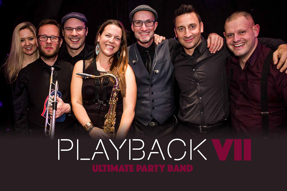 Playback's is a 3 to 10 piece party band, run by Caron Robinson