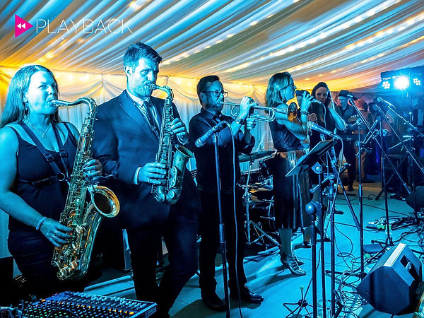 Longstowe Hall with Playback live party band