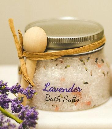 10oz Lavender Essential Oil Bath Salts