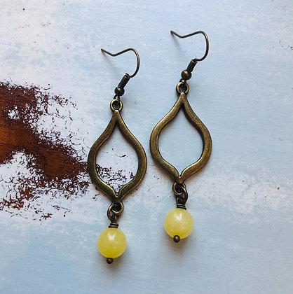 'Lemon Drop' Dangle Earrings