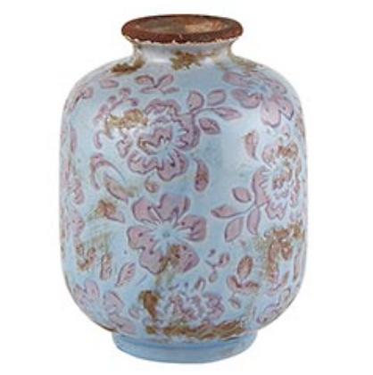 Periwinkle Grey Bud Vase - Small