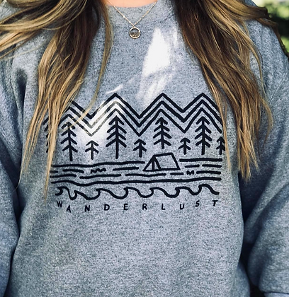 Wanderlust Crew Sweatshirt