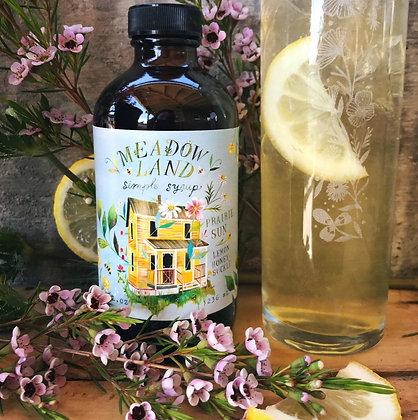 Meadowland Prairie Sun Simple Syrup - Lemon Honeysuckle