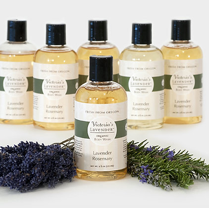 Organic Body Wash - Lavender Rosemary