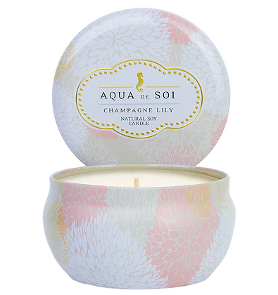 9 oz Champagne Lily Soy Candle