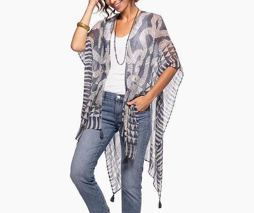 Neema Blue Kimono Wrap
