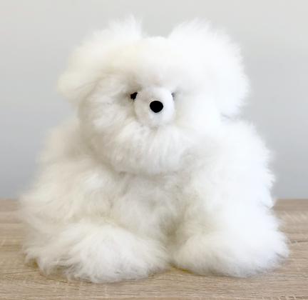 "10"" Alpaca Stuffed Bear"