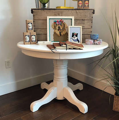 Refurbished Round Dining Table