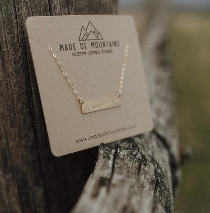 Wild Bar Necklace