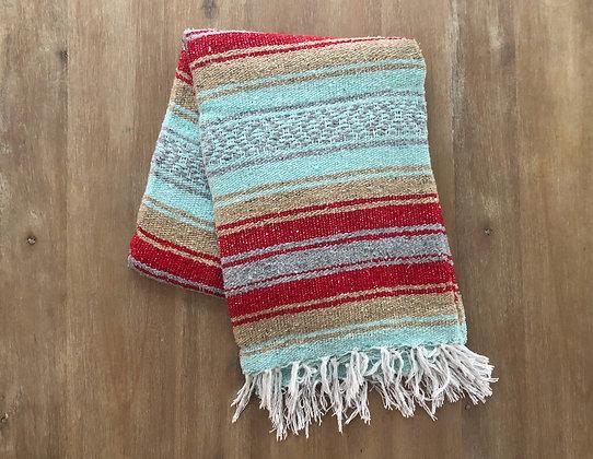 Jungle Berry Beach Blanket | Throw Blanket