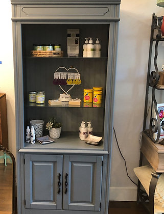 Grey Cabinet With Lighting