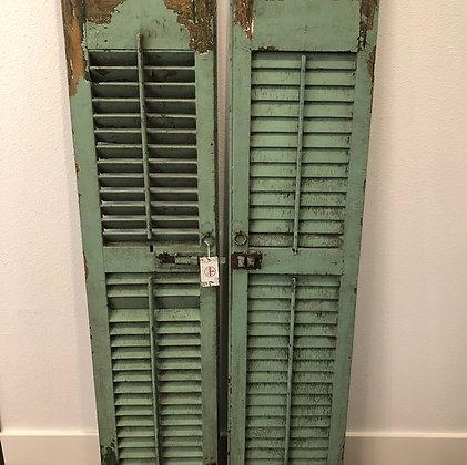 Pair of Vintage Shutters