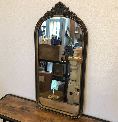 Small Vintage Gold Mirror