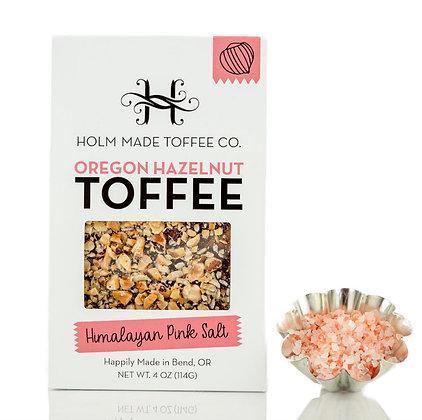 Himalayan Pink Salt Hazelnut Toffee