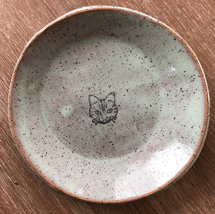 'Cat' Ceramic Mini Plate