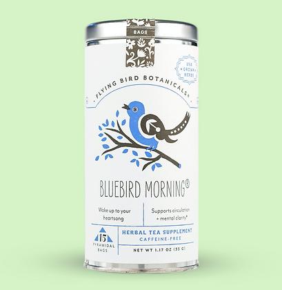Bluebird Morning - 15 Tea Bag Tin