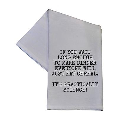 It's Practically Science! 16x24 Tea Towel