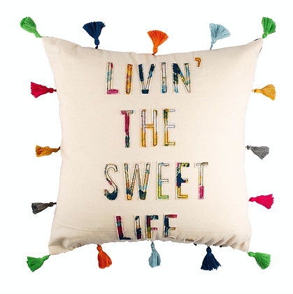 Livin' The Sweet Life Accent Pillow