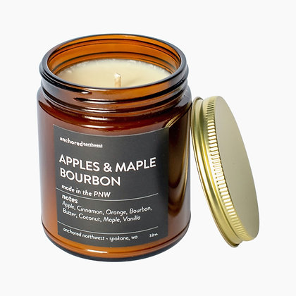 Apple & Maple Bourbon Soy Candle