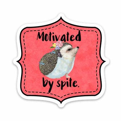 Motivated By Spite Vinyl Sticker