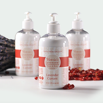 Lavender Currant Hand & Body Lotion