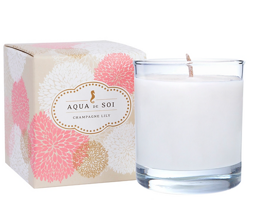 11 oz Champagne Lily Soy Candle