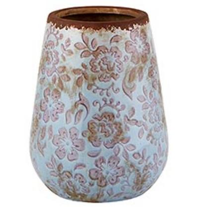Periwinkle Grey Bud Vase - Large