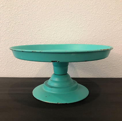 Turquoise & Gold Metal Stand