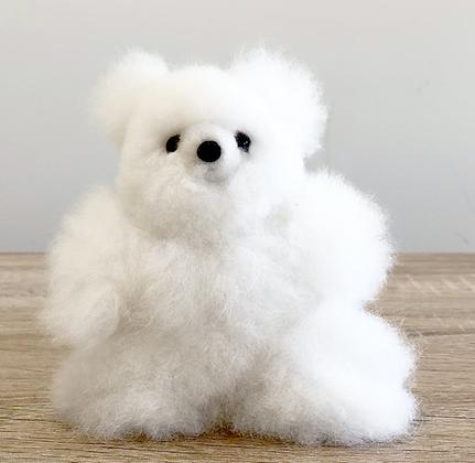 """7"""" Mini Alpaca Stuffed Bear"""