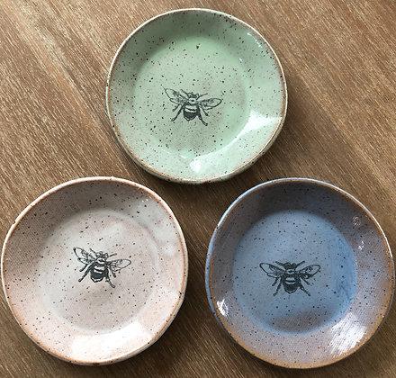 'Bee' Ceramic Mini Plate