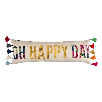 Oh Happy Day Lumbar Pillow