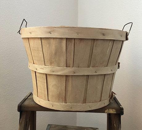 Small Apple Bushel Basket