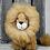 "Thumbnail: 9"" Alpaca Stuffed Lion"