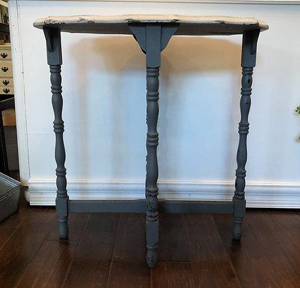Two Tone Grey Rectangular Table