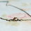 """Thumbnail: 18"""" Olive Green Beaded Bar Necklace"""