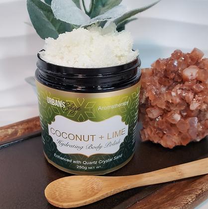 Coconut + Lime Body Polish (Sugar Scrub)
