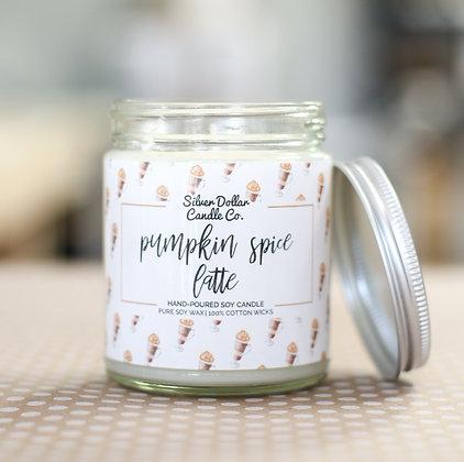Pumpkin Spice Latte Soy Candle - 8 oz
