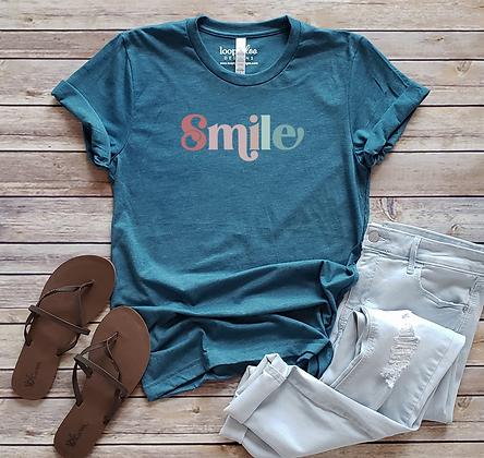 Smile Retro Graphic Tee