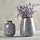 Thumbnail: Periwinkle Grey Bud Vase - Small