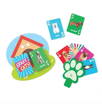 Crazy Pets Crazy 8 Playing Cards