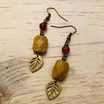 'Autumn' Dangle Earrings