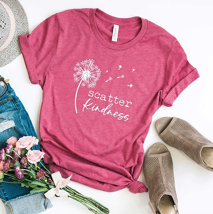 Scatter Kindness Graphic Tee