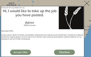 Farm Help Finder Received Offer