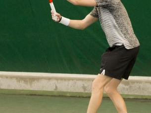 Men's tennis triumphs twice