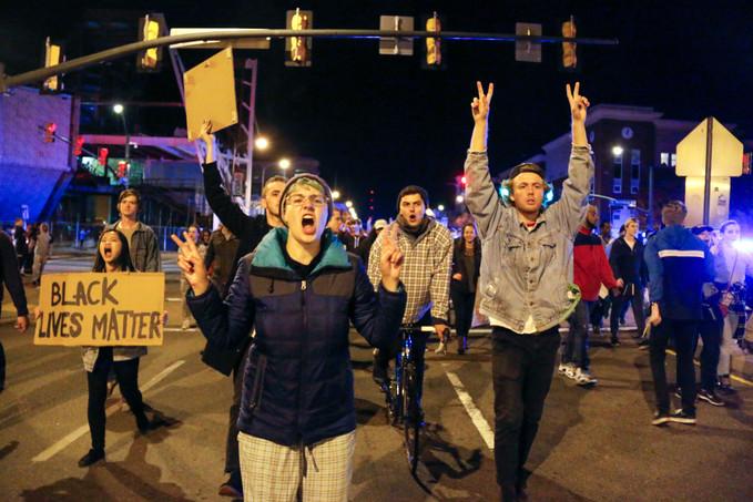 Anti Trump Protest - November2016