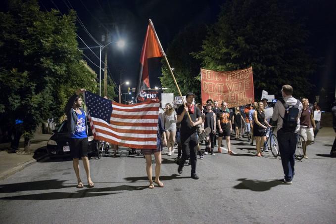 Anti Trump Protest - June 2016