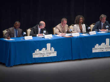 Mayoral candidates make last ditch appeals in televised debate