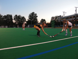 Field hockey falls short to defending champions