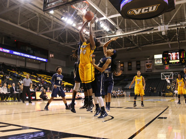 Women's basketball close out volatile February with UMass, Davidson wins