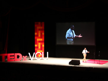 Researchers and students share ideas at TEDxVCU